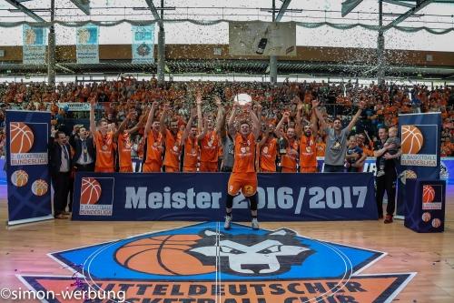 Das ProA-Meisterteam der Saison 2016/17.